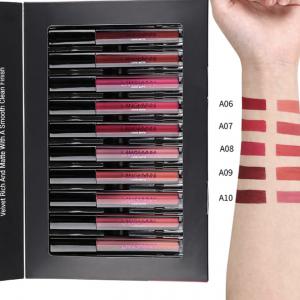 12pcs Waterproof Matte Velvet Lipstick Cosmetic Set 5