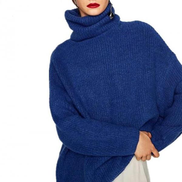 Oversized Turtleneck Sweater 2