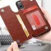 iPhone Leather Flip Case