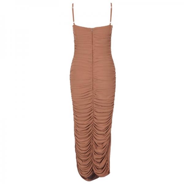 Elegant Bodycon Maxi Dress  4