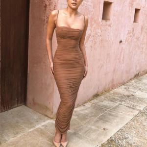 Elegant Bodycon Maxi Dress